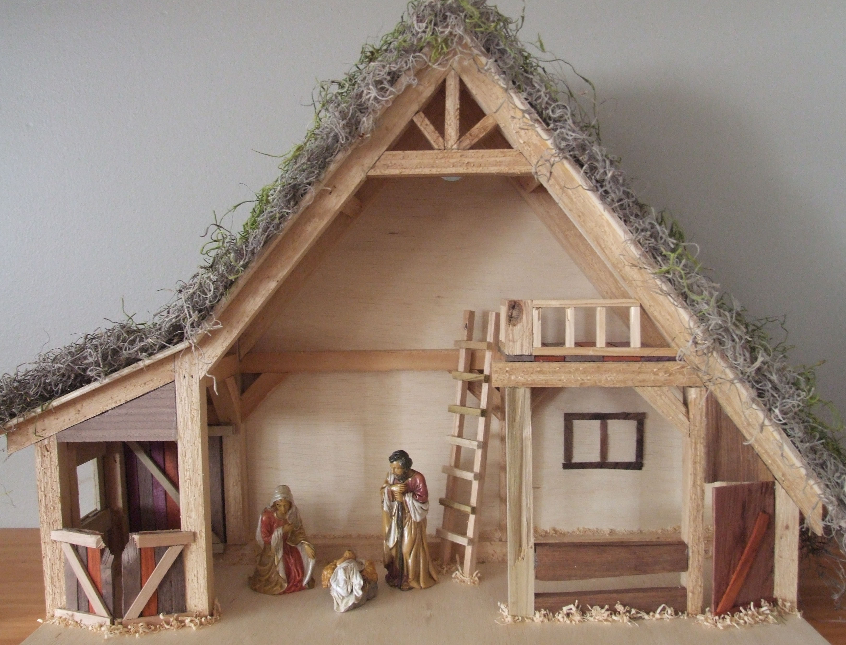 Christmas Crib Design Plans